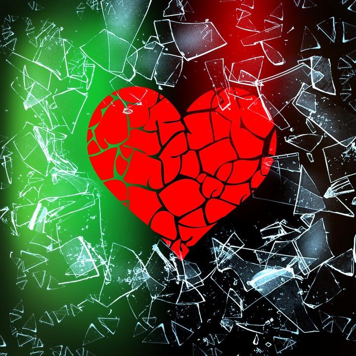 כשאת הלב מפלחת זעקה דוממת